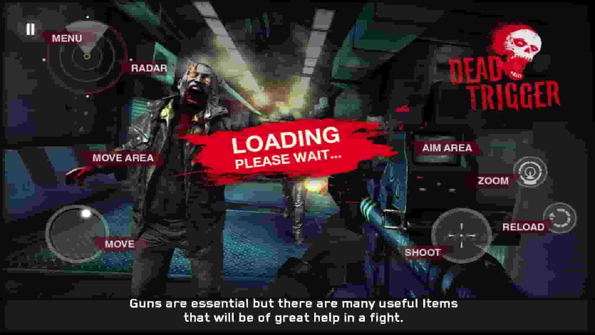 Dead Trigger, Best offline android games, offline game