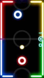 Glow Hockey, best android games offline, best android offline games