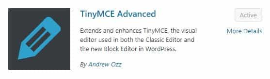 best wordpress plugins, wordpress best plugins, tinyMCE advanced