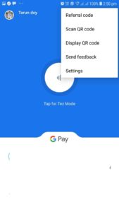Google Pay, Google Pay customer helpline