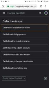Google Pay, google Pay customer care